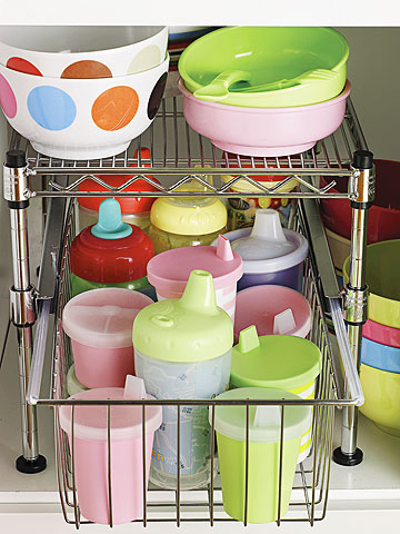 sippy cup drawer