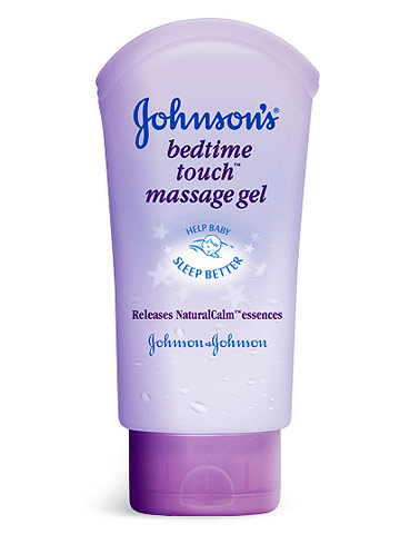 Johnson's Bedtime Touch massage gel