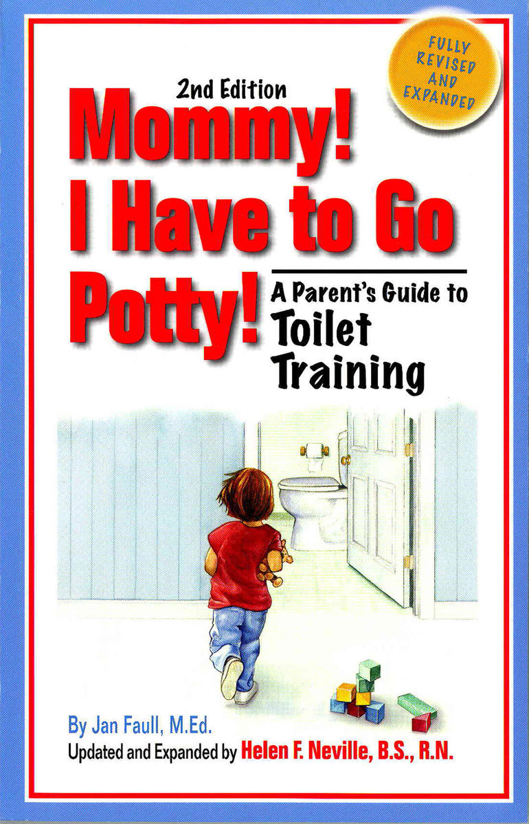 Mommy I Have to Go Potty Book Cover
