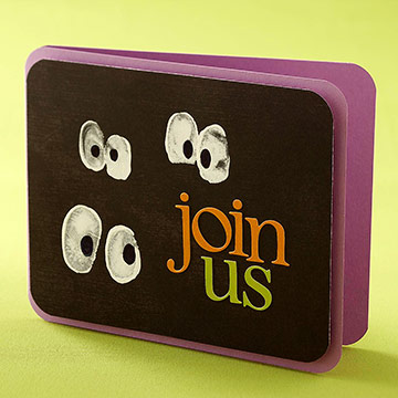 Halloween Party Invitations Cards Parents