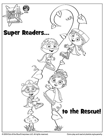 Super Why's Super Readers Climb