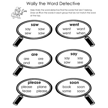 Word Detective Page 4