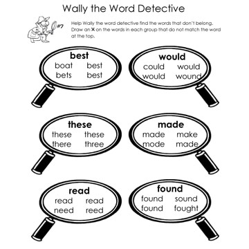 Word Detective Page 7