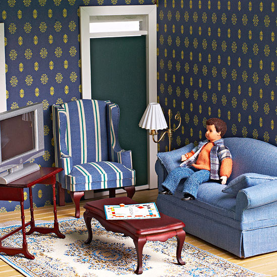alone in living room