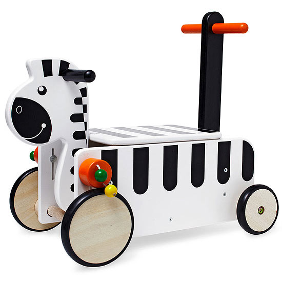 GYM - Wonderworld Ride-On Zebra