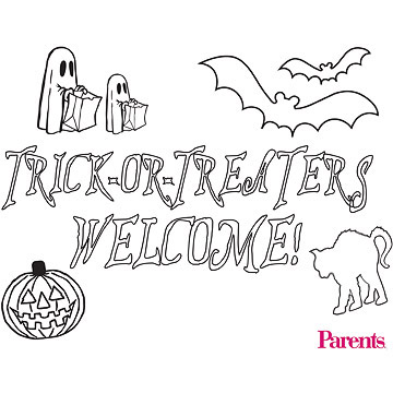 Trick-or-Treaters Welcome