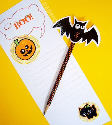 Spooky Stationary