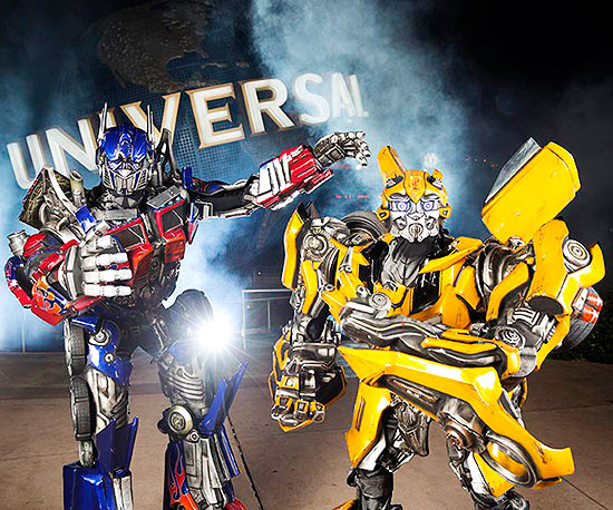 Universal Studio Florida's attraction Transformers