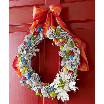 Paint-by-Nature Wreath