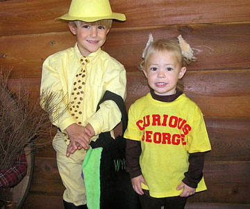 Curious George & The Man with the Yellow Hat