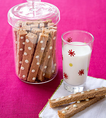 hot chocolate shortbread