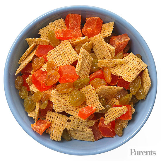 After-School Snack Mixes: Dried Papaya