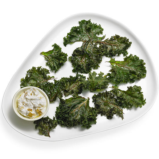 Kooky Kale Chips and Dip