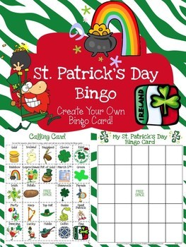 St Patricks Day Bingo