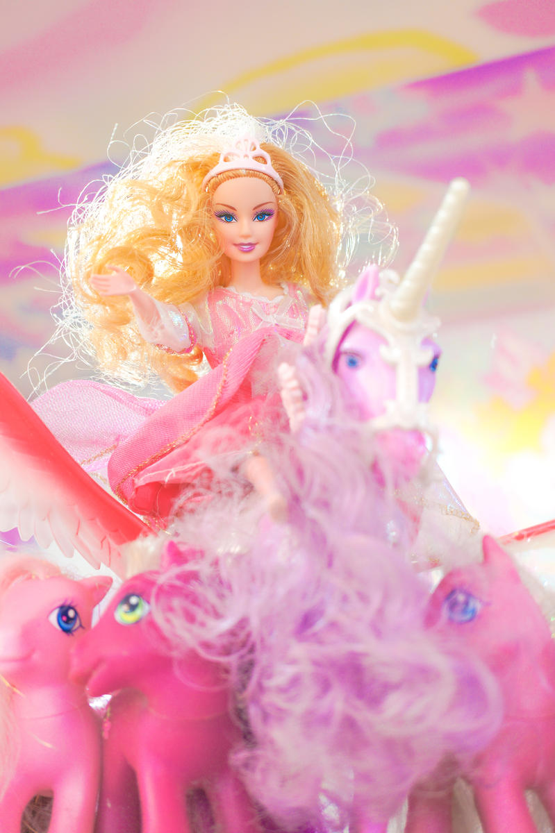 Classic Toys Retro Barbie Doll with Horse and My Little Pony