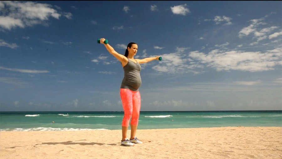 Celebrity Pregnancy Workout: Total Body Tune-Up