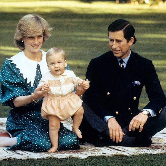 Prince William as a Baby