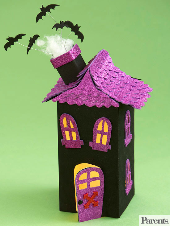 Haunted House Luminary