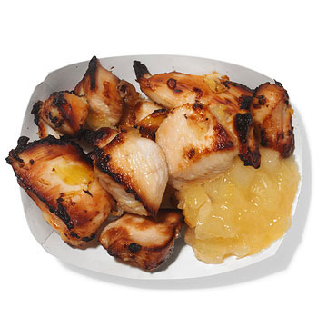 Aloha Chicken With Pineapple Dip
