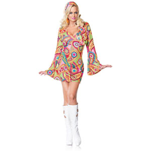 Hippie Chick Dress Costume