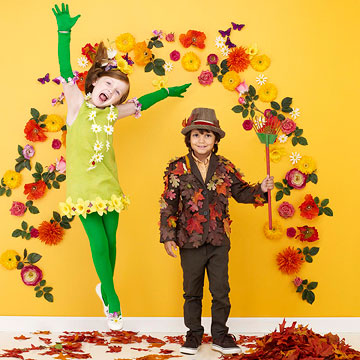 Spring and fall Halloween costume