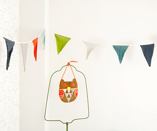 Knitted Pennants