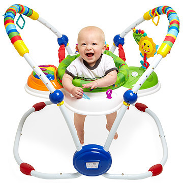 Make It Your Own: Baby Einstein Musical Motion Jumper