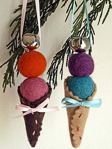 Ice Cream Ornament