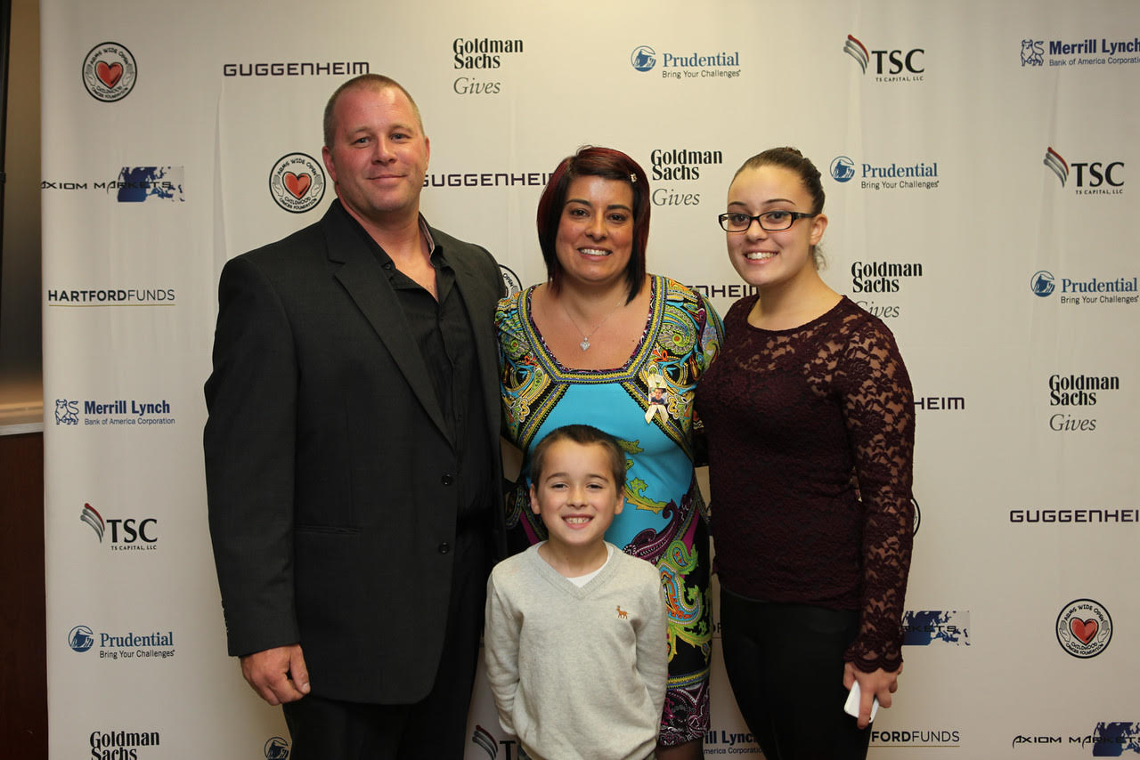 Sherwood Family, Arms Wide Open Childhood Cancer Foundation