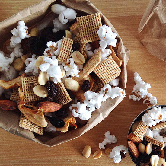 Popcorn Trail Mix recipe image
