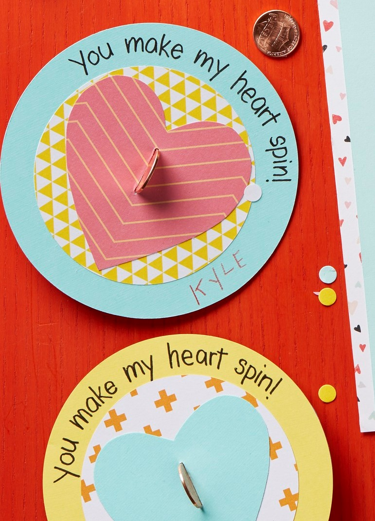 No Candy Valentine Sweet Spinners