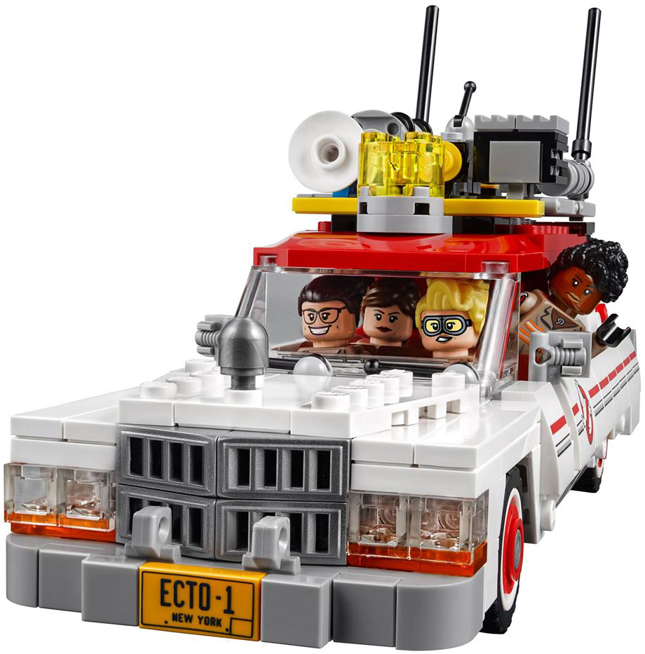 ghostbusters lego set with all women