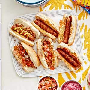 Wild-Style Mexican Hot Dogs