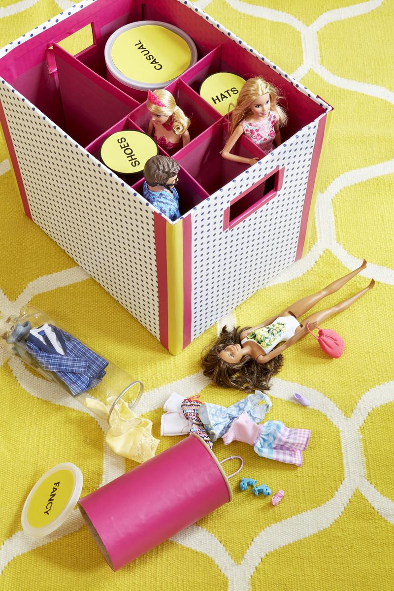 Contain Barbie's shopping problem