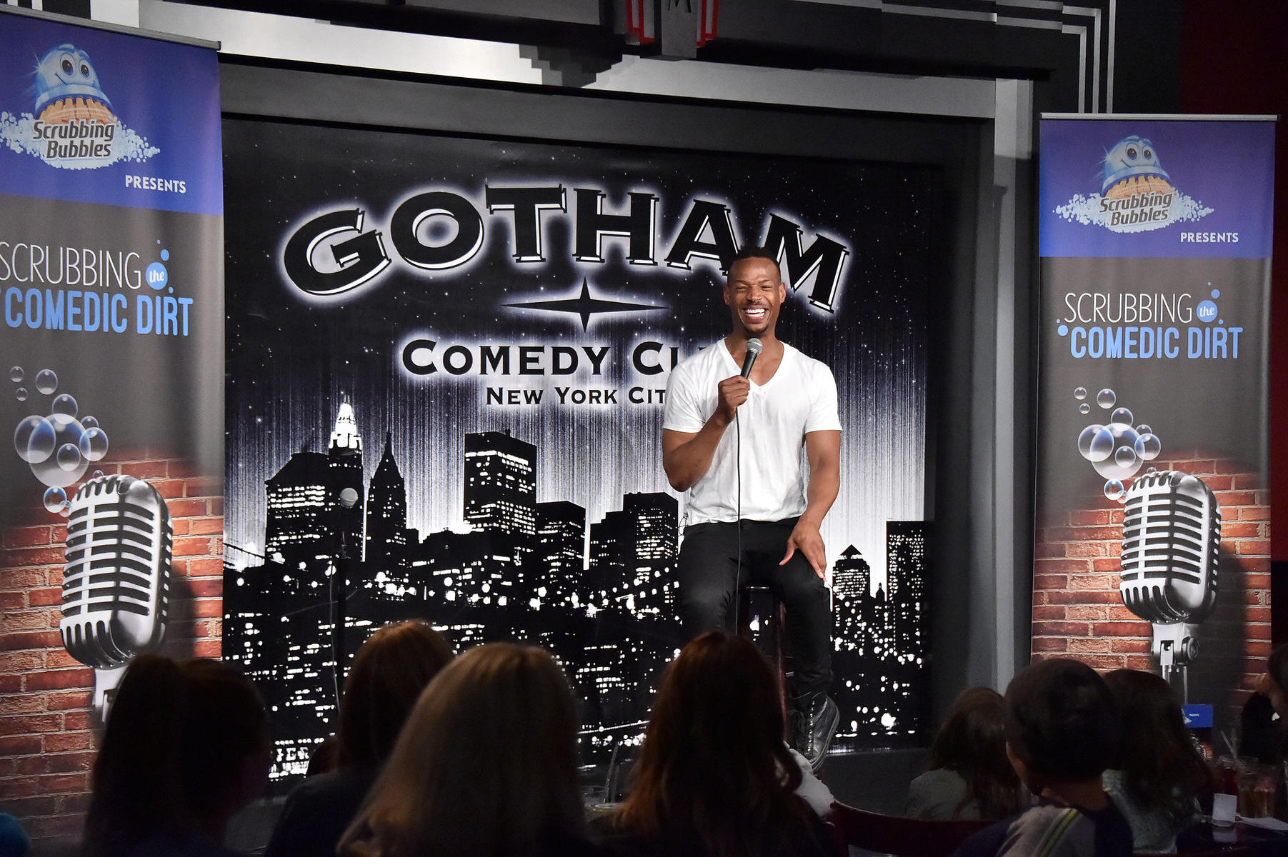 Wayans recently performed a kid-friendly comedy show as part of Scrubbing the Comedic Dirt comedy show presented by Scrubbing Bubbles.