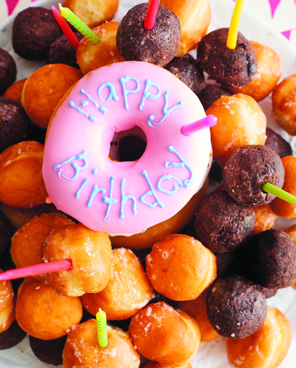Doughnut Cake from How to Celebrate Everything