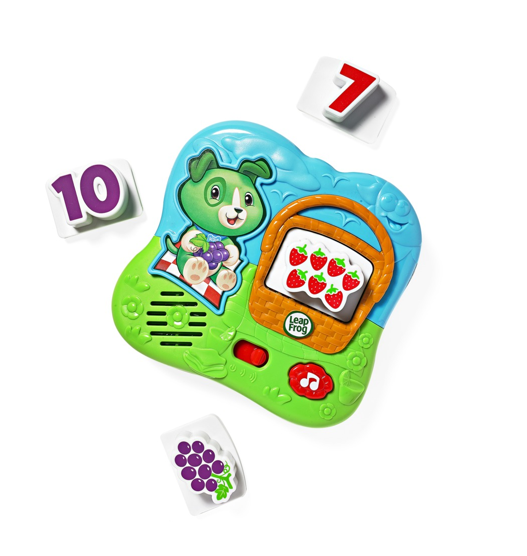 Best Toys Leap Frog Fridge Numbers Magnet Set