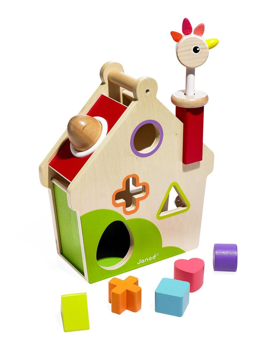 Best Toys Janod Zigolos Hen Activities House