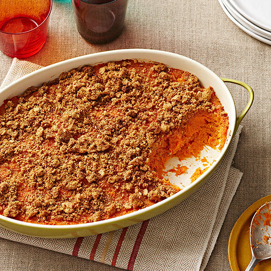 Orange-Spiced Sweet Potato Casserole recipe image