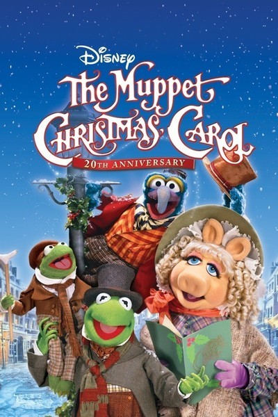 The Muppet Christmas Carol Movie Poster 1992