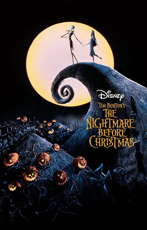 The Nightmare Before Christmas Movie Poster 1993