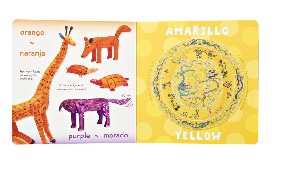 Colores Everywhere Bilingual Book