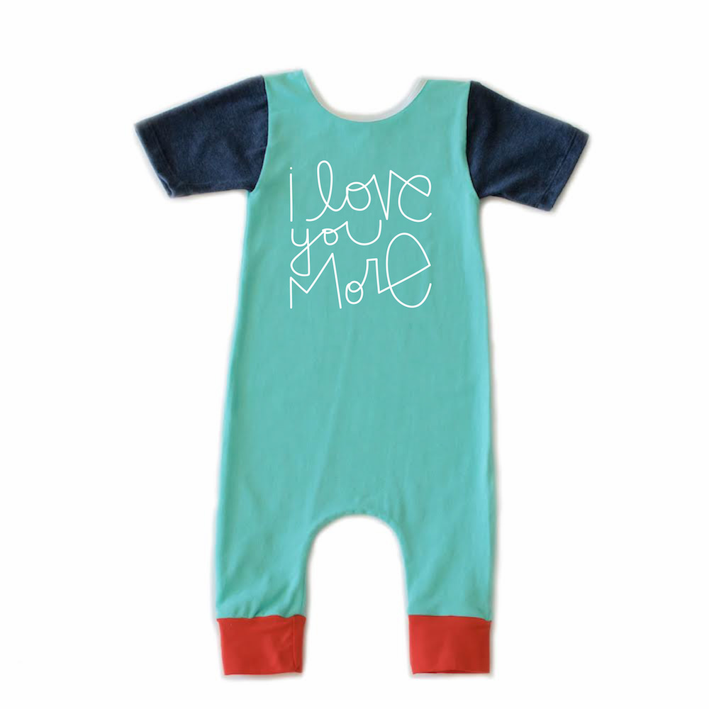super cute mother's day gift idea: I Love You More onesize
