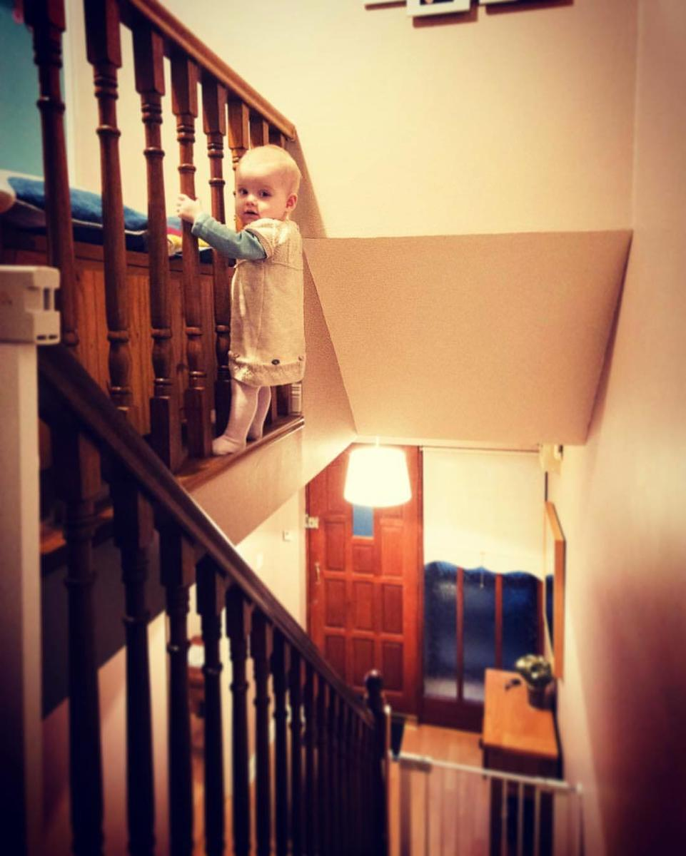 Baby Photoshop Stairs