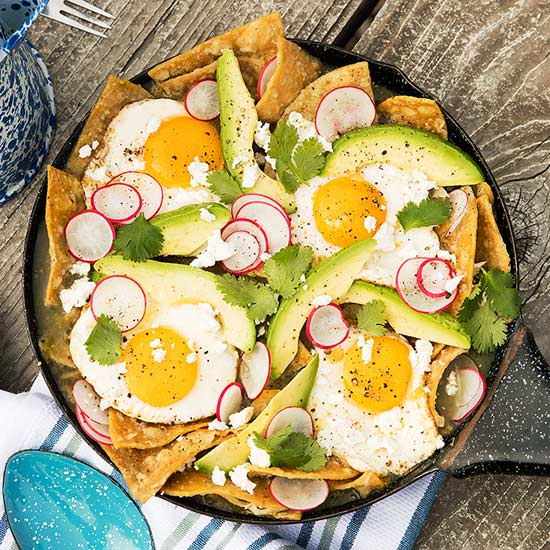 Chilaquiles recipe image