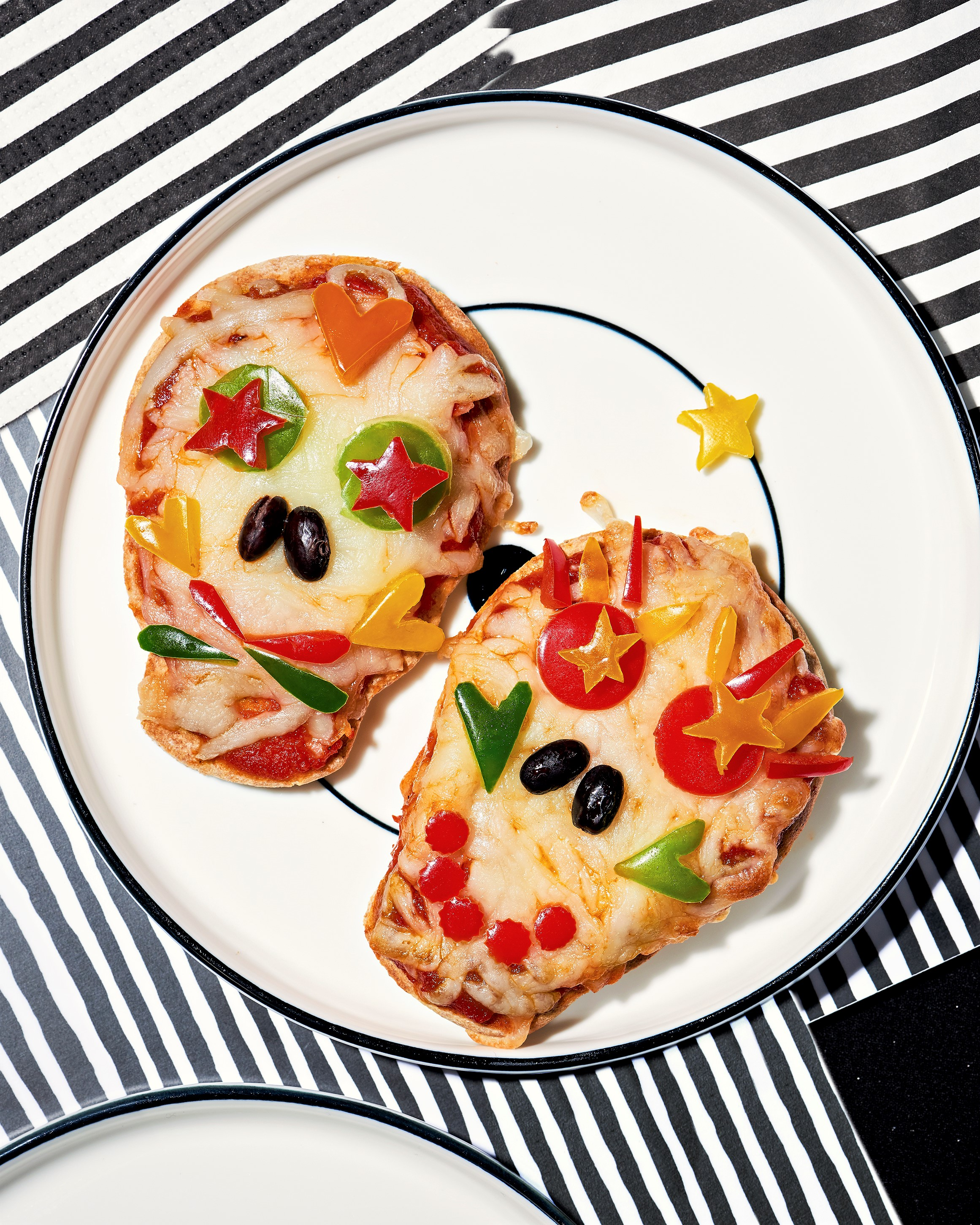 Day of the Dead Pizzas Skull Heads