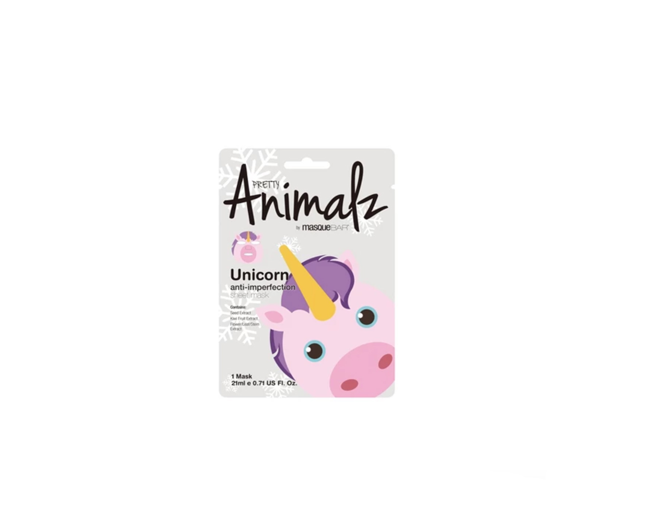 Masque Bar Pretty Animalz Facial Treatments Pink