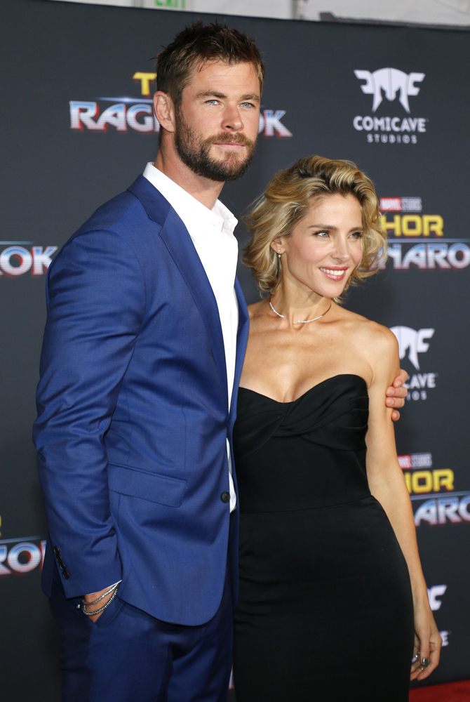 Celeb Parents Chris Hemsworth and Elsa Pataky