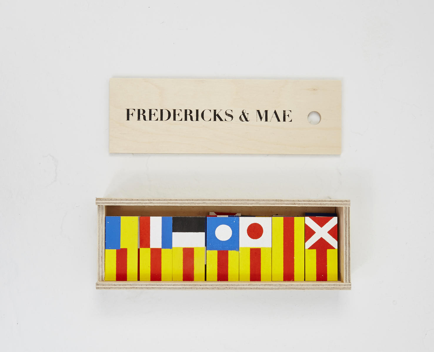 Fredericks and Mae Dominoes