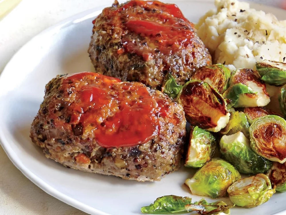 Meatloaf with Whole Grains